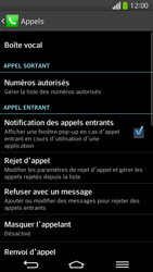 LG D955 G Flex - Messagerie vocale - configuration manuelle - Étape 6