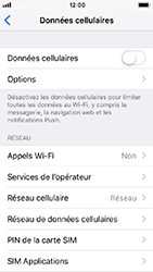 Apple iPhone SE - iOS 12 - Internet - activer ou désactiver - Étape 5