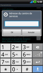 LG P920 Optimus 3D Speed - SMS - Configuration manuelle - Étape 5