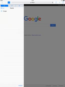 Apple iPad Pro 12.9 (1st gen) - iOS 9 - Internet - Navigation sur internet - Étape 9
