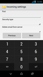 HTC Desire 310 - E-mail - Manual configuration - Step 11