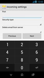 HTC Desire 310 - E-mail - Manual configuration - Step 11