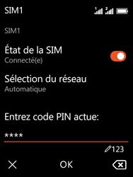 Nokia 3310 - Sécuriser votre mobile - Personnaliser le code PIN de votre carte SIM - Étape 9