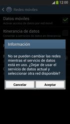 Samsung Galaxy S4 - Red - Seleccionar el tipo de red - Paso 8
