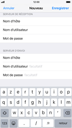 Apple iPhone 7 iOS 11 - E-mails - Ajouter ou modifier un compte e-mail - Étape 13