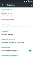 NOS SLIM - Segurança - Como ativar o código de bloqueio do ecrã -  5