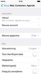 Apple iPhone 5 iOS 8 - E-mail - Handmatig instellen (yahoo) - Stap 10