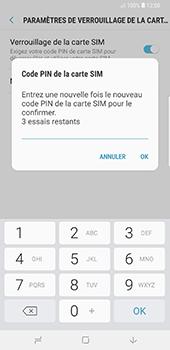 Samsung Galaxy Note 9 - Sécuriser votre mobile - Personnaliser le code PIN de votre carte SIM - Étape 10