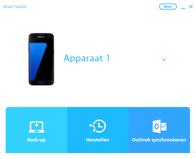 Samsung A300FU Galaxy A3 - Software - Back-up maken of terugplaatsen - Stap 3