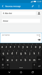 HTC Desire 816 - Contact, Appels, SMS/MMS - Envoyer un MMS - Étape 13