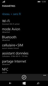 Microsoft Lumia 640 XL - Réseau - Utilisation à l