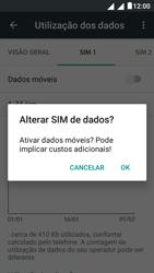 """Alcatel Pixi 4 (5"""") - Internet no telemóvel - Como ativar os dados móveis -  7"""