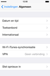 Apple iPhone 4 S - iOS 7 - toestel resetten - fabrieksinstellingen terugzetten - stap 4