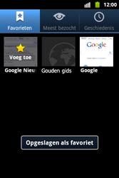 Samsung S5690 Galaxy Xcover - Internet - Hoe te internetten - Stap 9