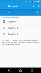 Sony Xperia Z5 Compact - Bluetooth - Conectar dispositivos a través de Bluetooth - Paso 6