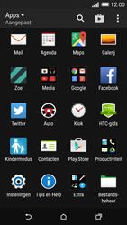 HTC One M8s - MMS - afbeeldingen verzenden - Stap 2