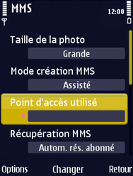 Nokia N86 - MMS - Configuration manuelle - Étape 24
