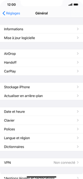 Apple iPhone XR - iOS 13 - Appareil - Mise à jour logicielle - Étape 5