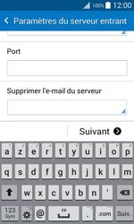 Samsung G388F Galaxy Xcover 3 - E-mail - Configurer l