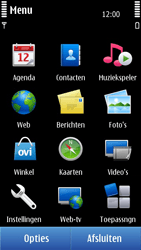 Nokia N8-00 - MMS - handmatig instellen - Stap 4
