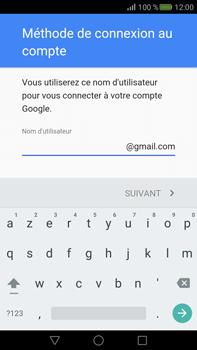Huawei Mate S - Applications - Créer un compte - Étape 8