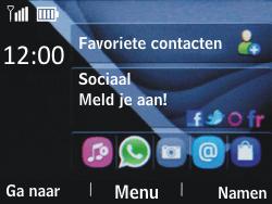 Nokia Asha 201 - SMS - handmatig instellen - Stap 1