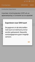 Samsung Galaxy J5 2016 - Contacten en data - Contacten kopiëren van toestel naar SIM - Stap 9