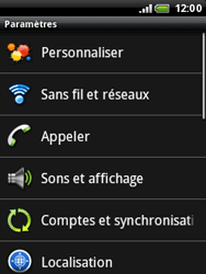 HTC A3333 Wildfire - Messagerie vocale - Configuration manuelle - Étape 4