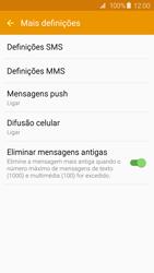 Samsung Galaxy S6 Edge - SMS - Como configurar o centro de mensagens -  7