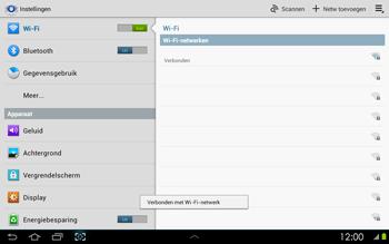 Samsung P5100 Galaxy Tab 2 10-1 - WiFi - Handmatig instellen - Stap 7