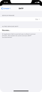Apple iPhone XR - iOS 13 - E-mail - Configuration manuelle - Étape 20