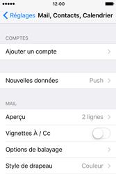 Apple iPhone 4 S iOS 9 - E-mail - Configuration manuelle - Étape 4