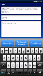 Sony Ericsson Xperia X10 - E-mail - e-mail versturen - Stap 7