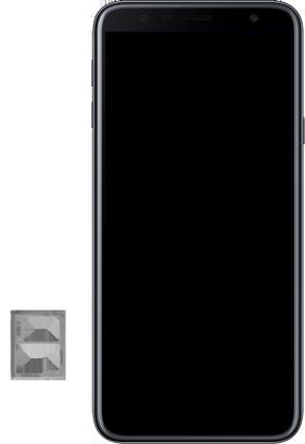 Samsung J4+ - Primeiros passos - Como inserir o chip da Nextel no seu celular - Etapa 8