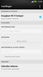 HTC One - WiFi - Mobiele hotspot instellen - Stap 11