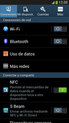 Samsung Galaxy S4 Mini - Red - Seleccionar el tipo de red - Paso 4
