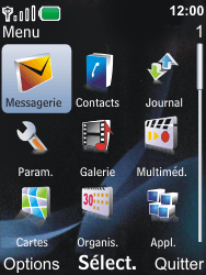 Nokia 6600i slide - SMS - Configuration manuelle - Étape 3