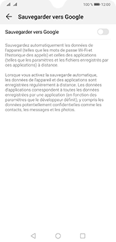 Huawei Mate 20 - Données - créer une sauvegarde avec votre compte - Étape 6