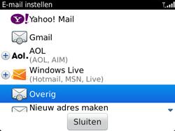 BlackBerry 9790 Bold - E-mail - Handmatig instellen - Stap 7