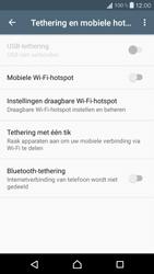 Sony Xperia X Compact (F5321) - WiFi - Mobiele hotspot instellen - Stap 11