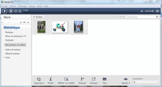 Sony Xperia XZ1 - Photos, vidéos, musique - Récupérer vos contenus multimédias avec un ordinateur - Étape 10