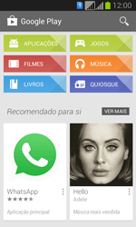 Samsung Galaxy Fresh Duos - Aplicações - Como pesquisar e instalar aplicações -  4
