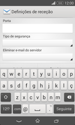 Sony Xperia E1 - Email - Configurar a conta de Email -  10