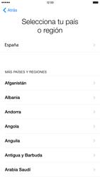 Apple iPhone 6 Plus iOS 8 - Primeros pasos - Activar el equipo - Paso 7
