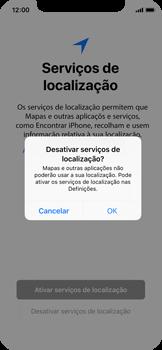 Apple iPhone X - Primeiros passos - Como ligar o telemóvel pela primeira vez -  21