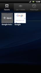 Sony Ericsson Xperia Arc S - Internet - navigation sur Internet - Étape 8