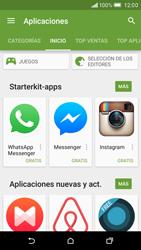 HTC One M9 - Aplicaciones - Descargar aplicaciones - Paso 5