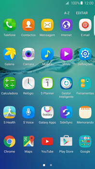 Samsung Galaxy S6 Edge + - SMS - Configurar o centro de mensagens -  3