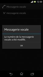 Sony C1905 Xperia M - Messagerie vocale - Configuration manuelle - Étape 9