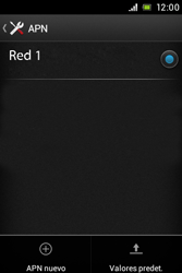 Sony Xperia E - Internet - Configurar Internet - Paso 9